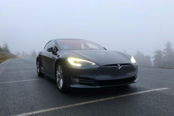 Verteilzentrum für Tesla-Ersatzteile