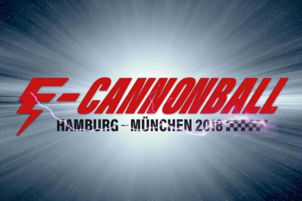 E-Cannonball von Hamburg nach München – GPS-Verfolgung