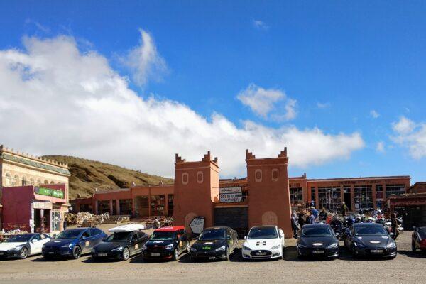 8.904 Kilometer-Fahrt mit dem Tesla