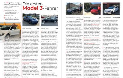 Model 3 Fahrer begeistert!