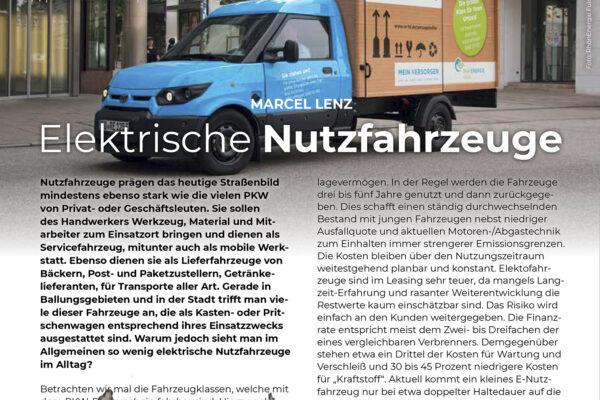 Marktübersicht E-Nutzfahrzeuge