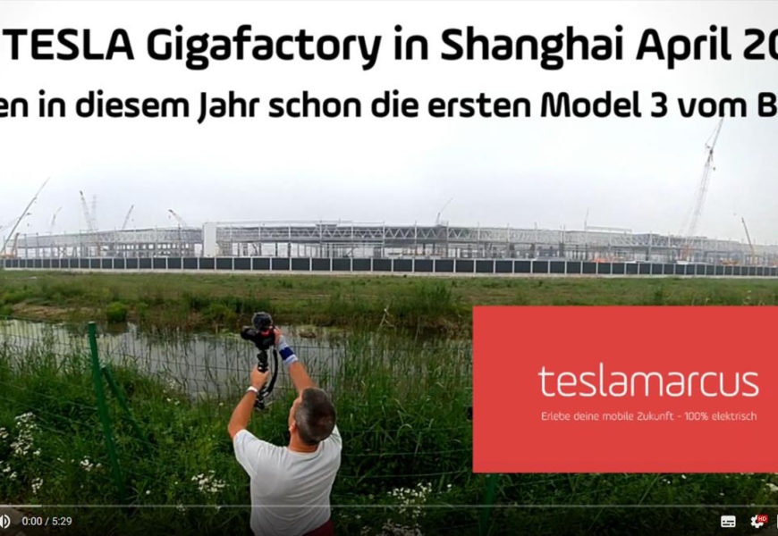 Tesla Gigafactory 3 in China