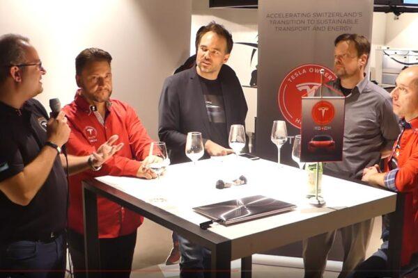 Tesla Welt & Strom-Garage in der Schweiz