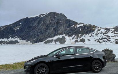 Mit dem Tesla nach Norwegen