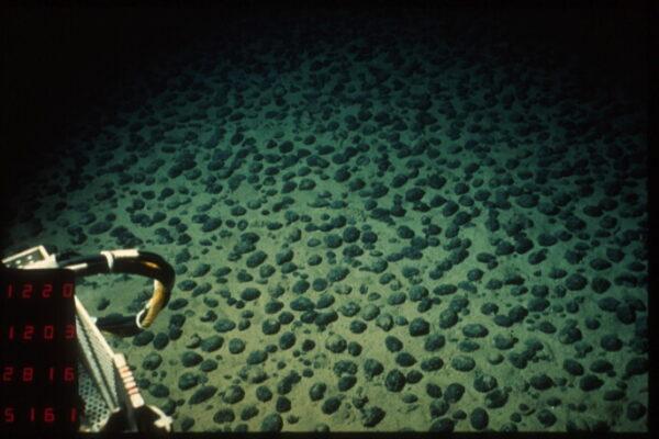 Rohstoffgewinnung am Meeresboden