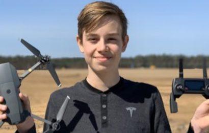 13-jähriger Youtuber bekommt persönliche Erlaubnis zu Drohnenaufnahmen von Elon Musk