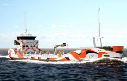 Erstes elektrisches Tankschiff in 2022