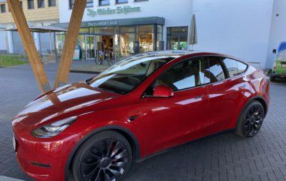 Erstes Model Y ist in Deutschland