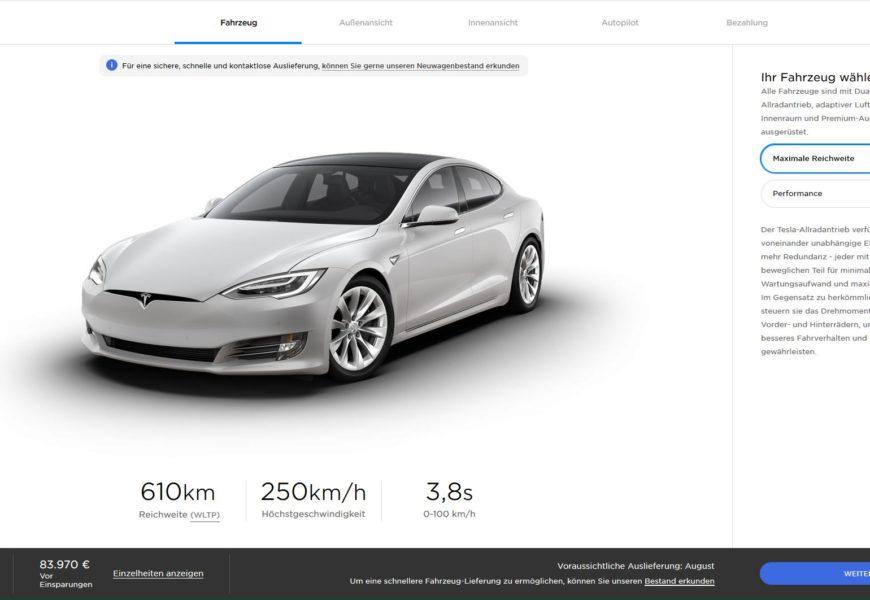 Tesla senkt Preise – kostenloses Laden fällt weg