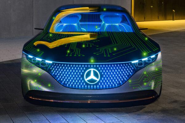 Kooperation von Mercedes und NVIDIA bei autonomen Fahren