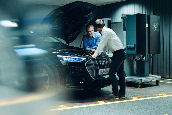 Audi arbeitet an bidirektionalem Laden