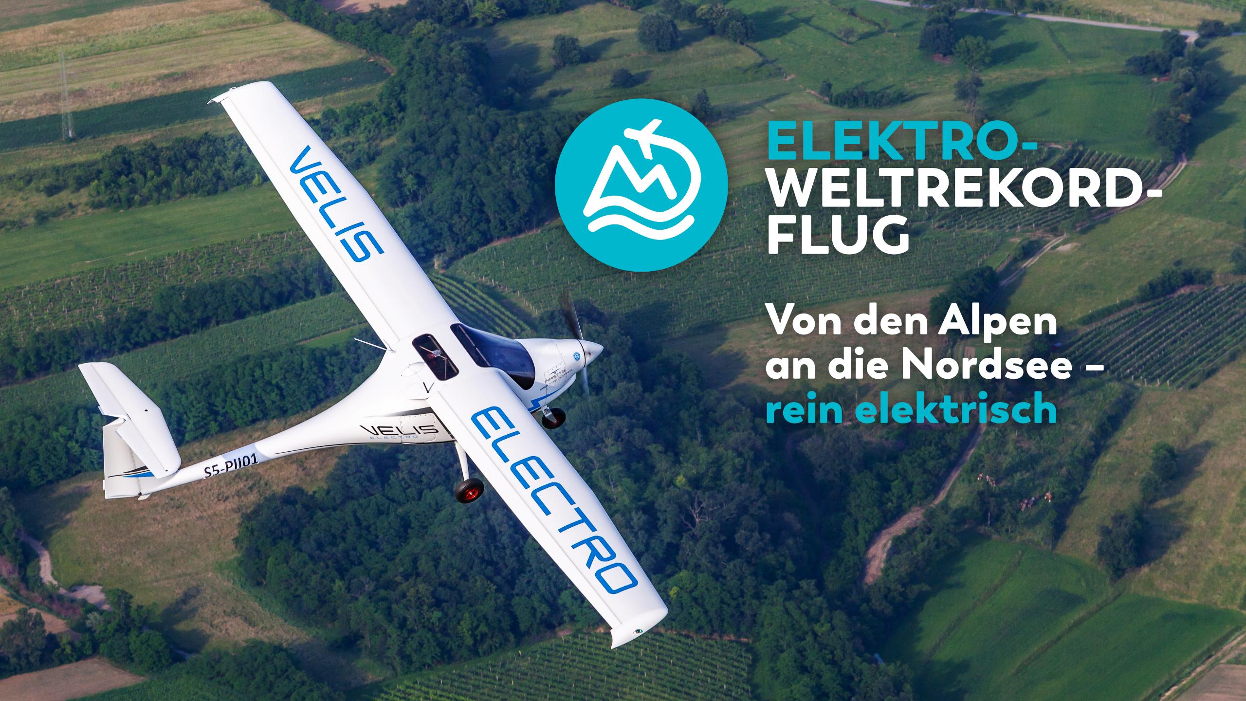 Weltrekord-Elektro-Flug
