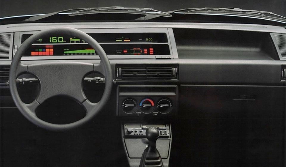 Innenraum des Fiat Tipo