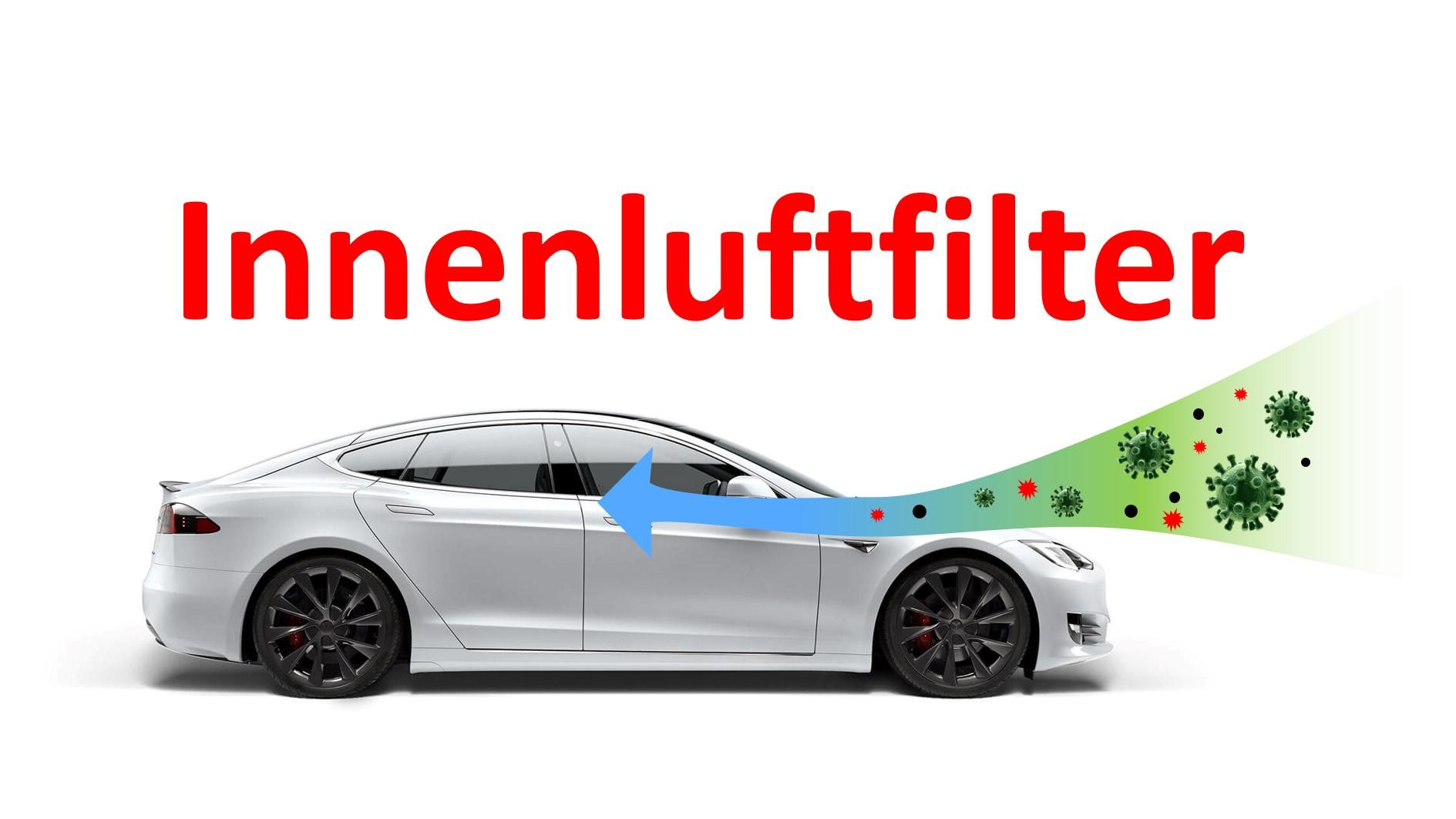 Tesla Innenluft Filter