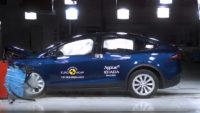 Crashtest Tesla Model X