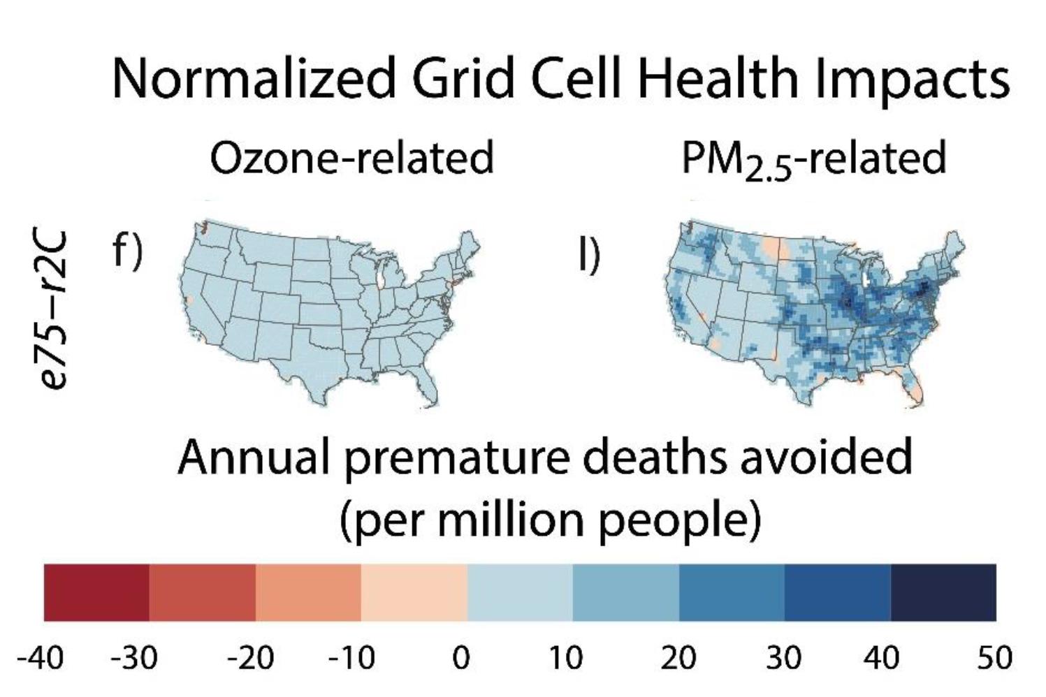 Gesundheitsauswirkungen durch Einführung von Elektromobilität in den USA