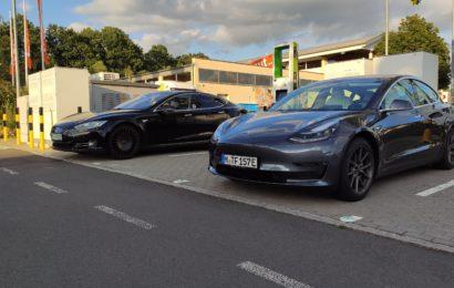 Model S 2013 vs Model 3 2020
