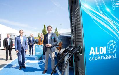 Aldi Süd plant den Bau von 1.500 weiteren Ladesäulen
