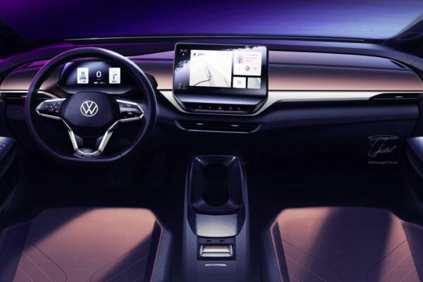 VW liefert Einblicke in Interieur des ID.4