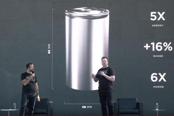 Tesla entwickelt 4680-Batteriezelle zusammen mit Panasonic in der Gigafactory Nevada