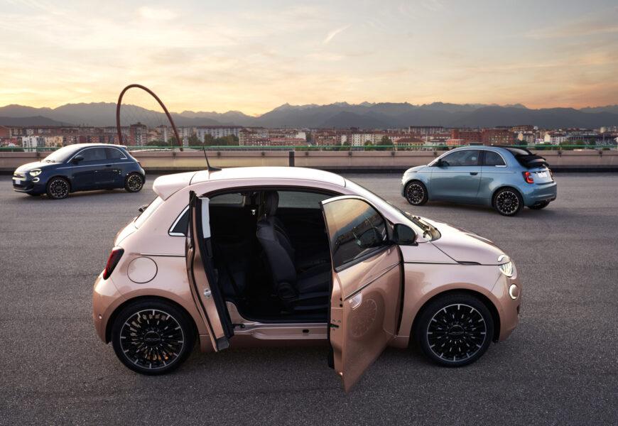 Modelle und Preise des neuen elektrischen Fiat 500 bekanntgegeben