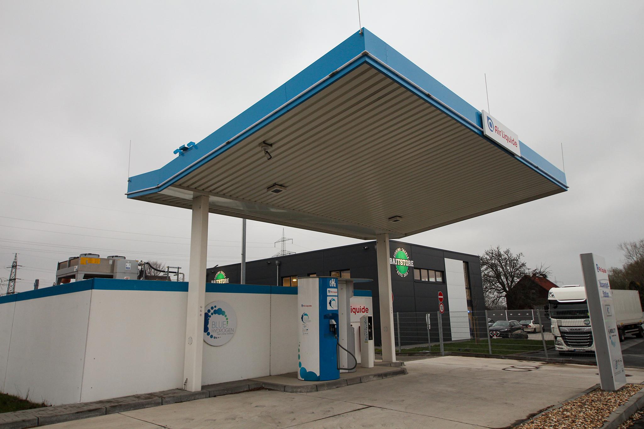 Wasserstoff Tankstelle