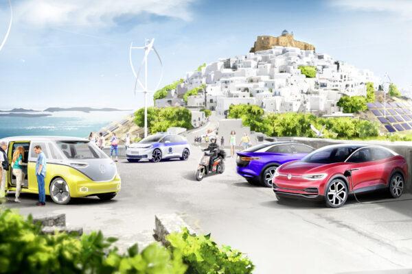 VW und griechische Regierung planen Modellinsel für E-Mobilität