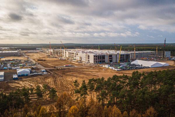 Teslas plant weltweit größte Batteriefabrik in Grünheide