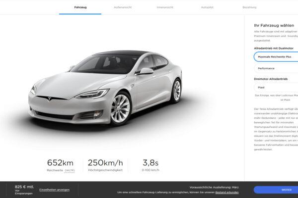 Tesla erhöht Preise für Model S und X