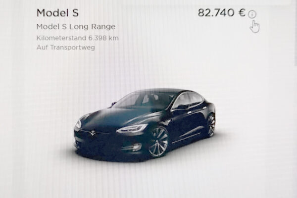 Neue Bewegung im Tesla Preiskarusell