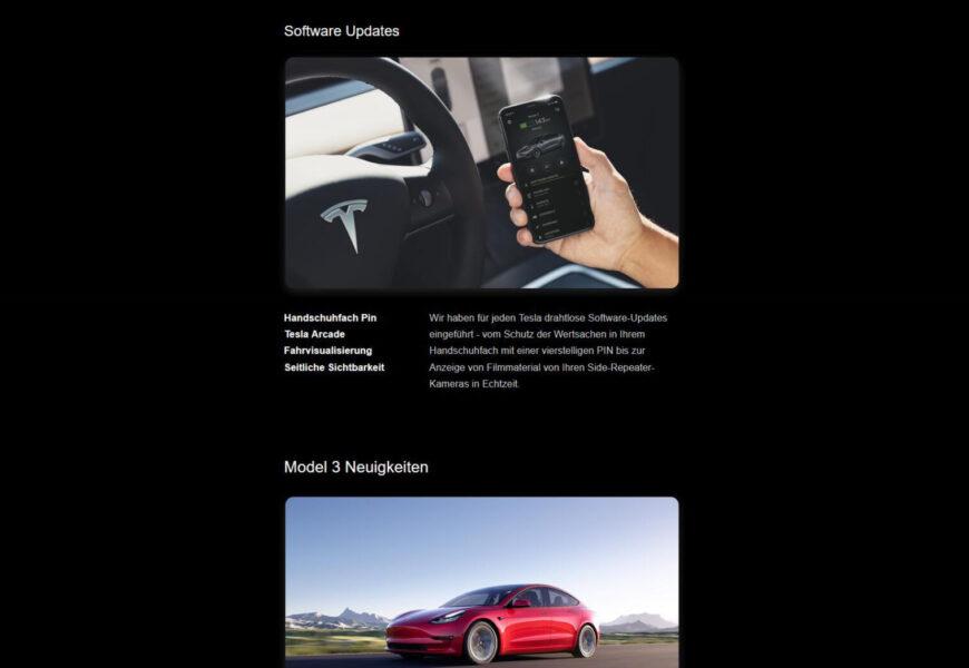 Teslas Kundenansprache