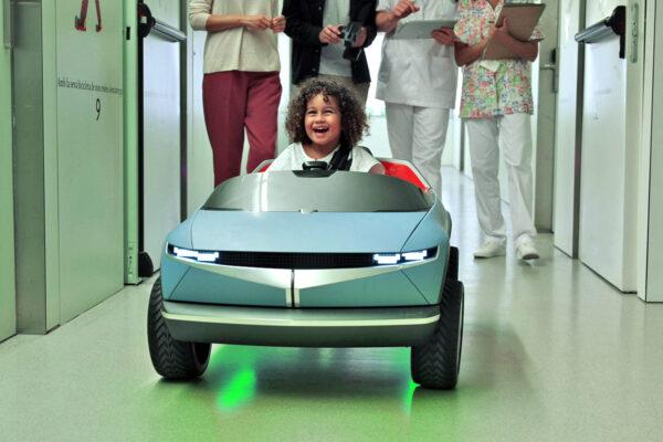 Hyundai präsentiert Mini-Elektromobil