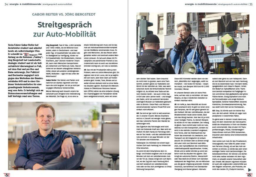 Streitgespräch zur Auto-Mobilität