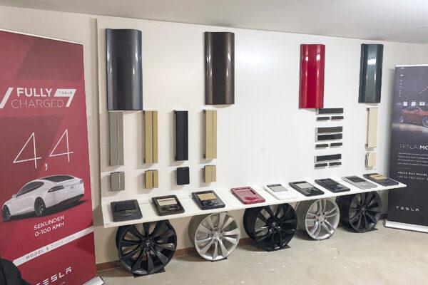 """Privater Showroom – Das """"Tesla-Bernsteinzimmer"""""""