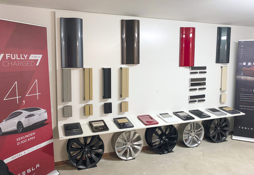 "Privater Showroom – Das ""Tesla-Bernsteinzimmer"""