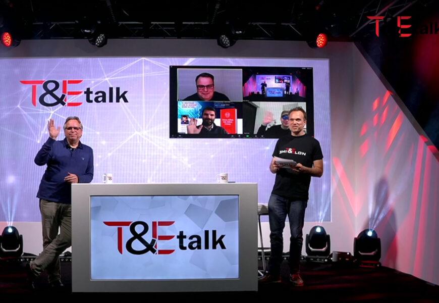 1. T&Etalk mit über 300 Live-Zuschauern