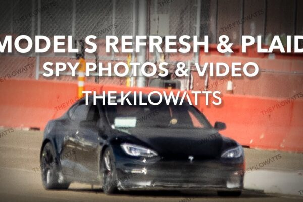 Fotos von aufgefrischtem Tesla Model S auf Teststrecke