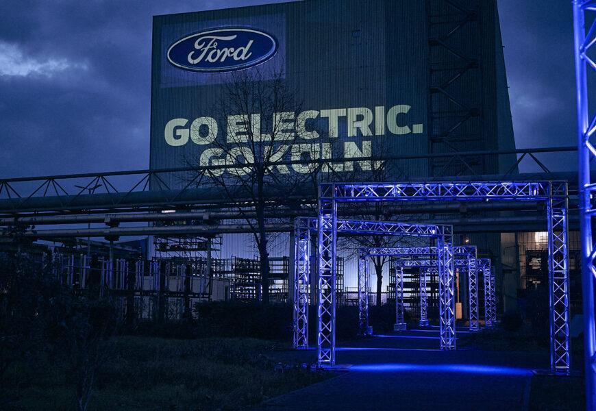 Ford investiert eine Milliarde Dollar in Kölner E-Auto-Werk