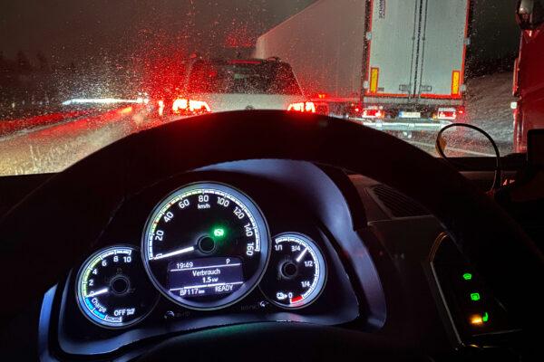 ADAC-Test: E-Auto halten Minusgraden auch in stundenlangen Staus Stand