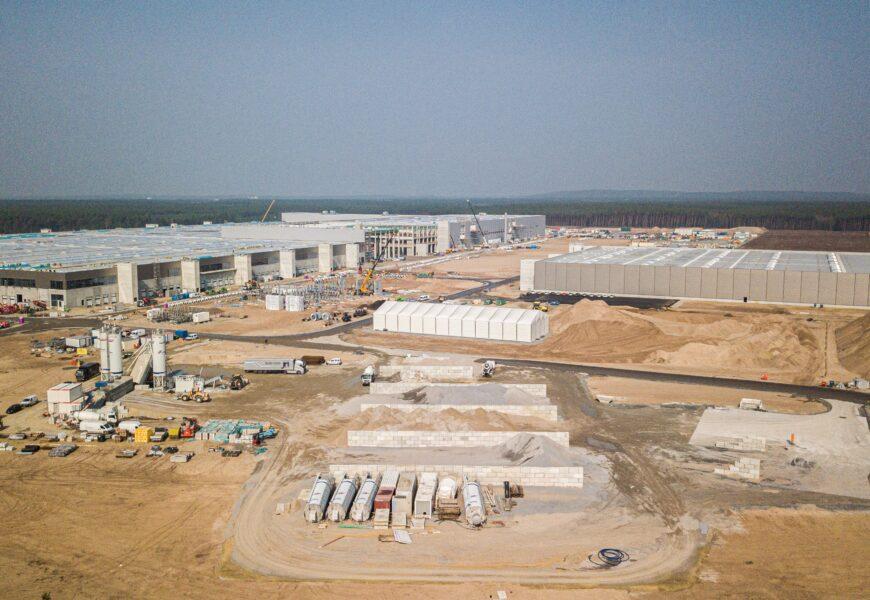 Neues Wasserwerk für Tesla Gigafactory