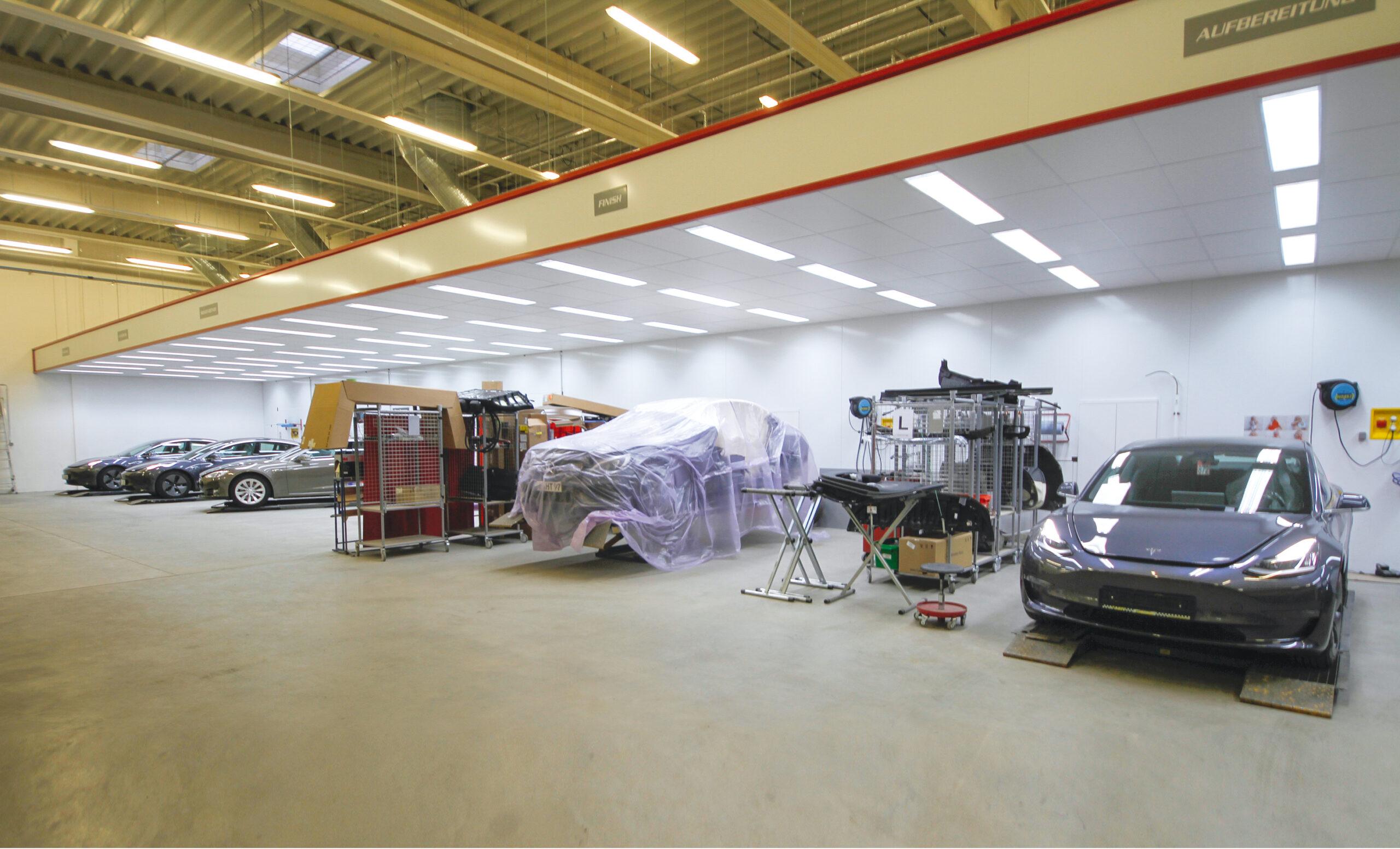Tesla Body Shops