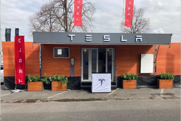 Tesla ergänzt Standorte um Pop-up-Stores