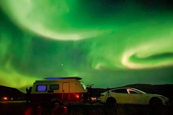 12.000 Kilometer elektrisch mit dem Wohnanhänger zum Nordkap
