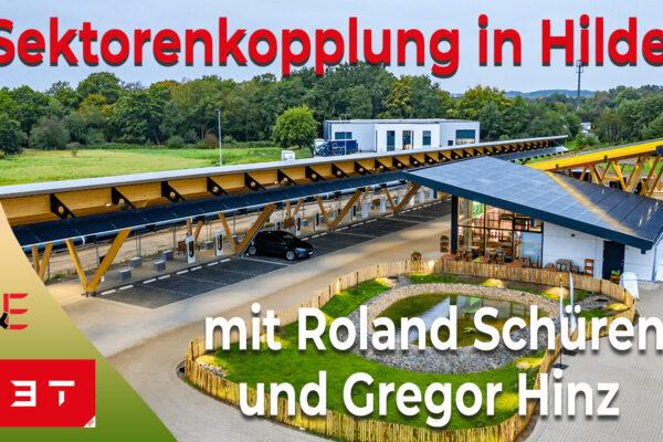 Sektorenkopplung in Hilden mit Roland Schüren und Gregor Hinz