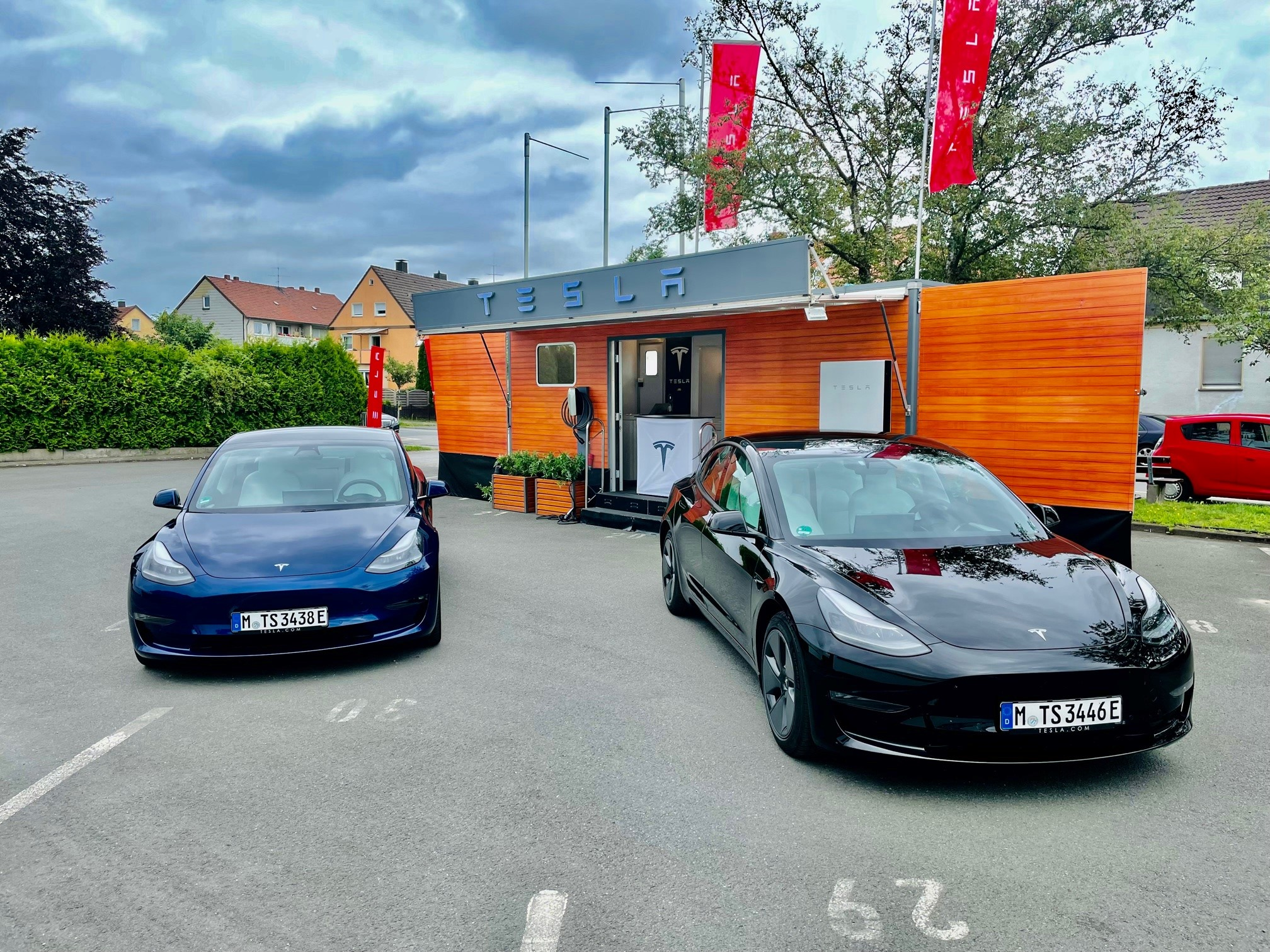 Tesla Pop-up Store Bielefeld