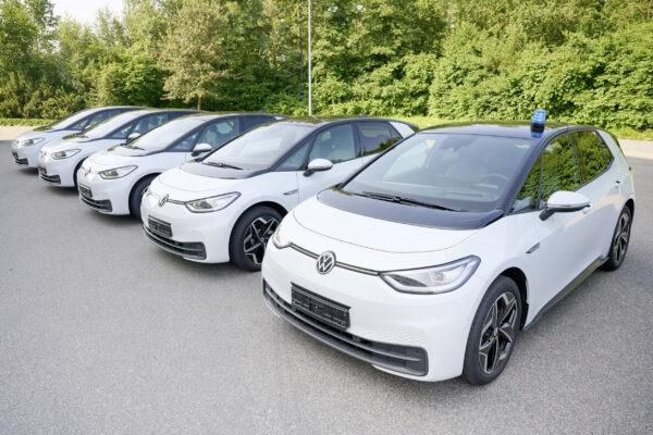 Polizei Niedersachsen bestellt 215 VW ID.3 als Einsatzfahrzeuge