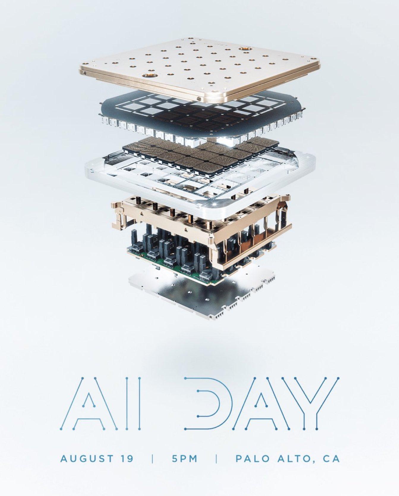 Tesla AI Day Einladung