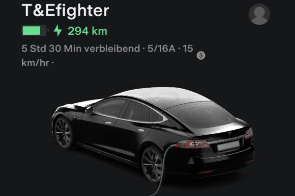 Neue Version der Tesla App