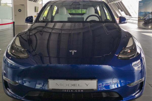 Tesla stellt Model Y für Deutschand vor