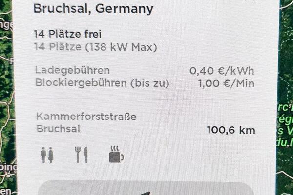 Preiserhöhung an Tesla Superchargern in Deutschland: 0,40 Euro/kWh / Update: Preiserhöhungen europaweit